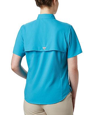Women's PFG Tamiami™ II Short Sleeve Shirt Womens Tamiami™ II SS Shirt   658   L, Clear Water, back