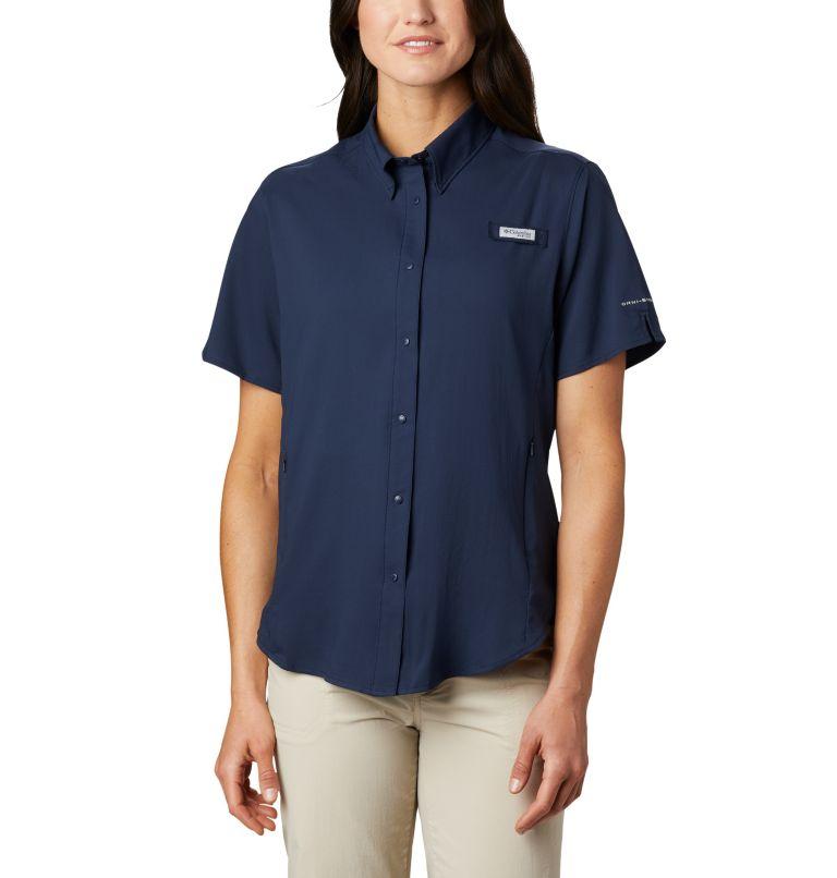 Womens Tamiami™ II SS Shirt | 464 | M Women's PFG Tamiami™ II Short Sleeve Shirt, Collegiate Navy, front