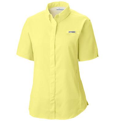 Women's PFG Tamiami™ II Short Sleeve Shirt Womens Tamiami™ II SS Shirt | 658 | L, Sunnyside, front
