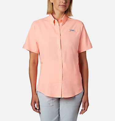 Women's PFG Tamiami™ II Short Sleeve Shirt Womens Tamiami™ II SS Shirt | 658 | L, Tiki Pink, front