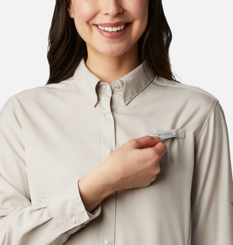 Womens Tamiami™ II LS Shirt | 020 | XL Women's PFG Tamiami™ II Long Sleeve Shirt, Light Cloud, a2
