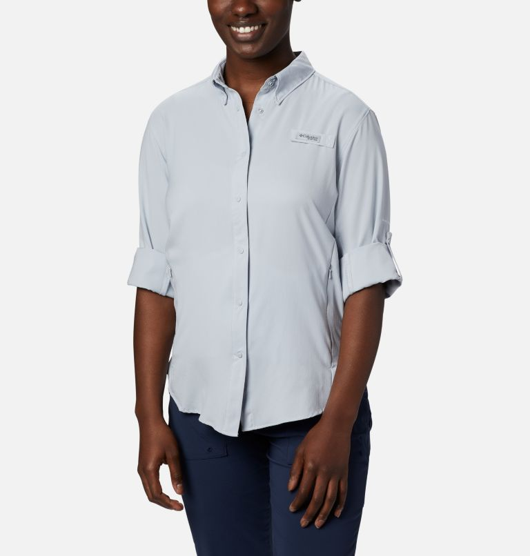 Womens Tamiami™ II LS Shirt | 031 | XXL Women's PFG Tamiami™ II Long Sleeve Shirt, Cirrus Grey, a1