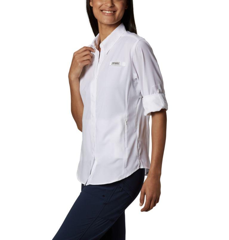 Womens Tamiami™ II LS Shirt | 100 | M Women's PFG Tamiami™ II Long Sleeve Shirt, White, a1