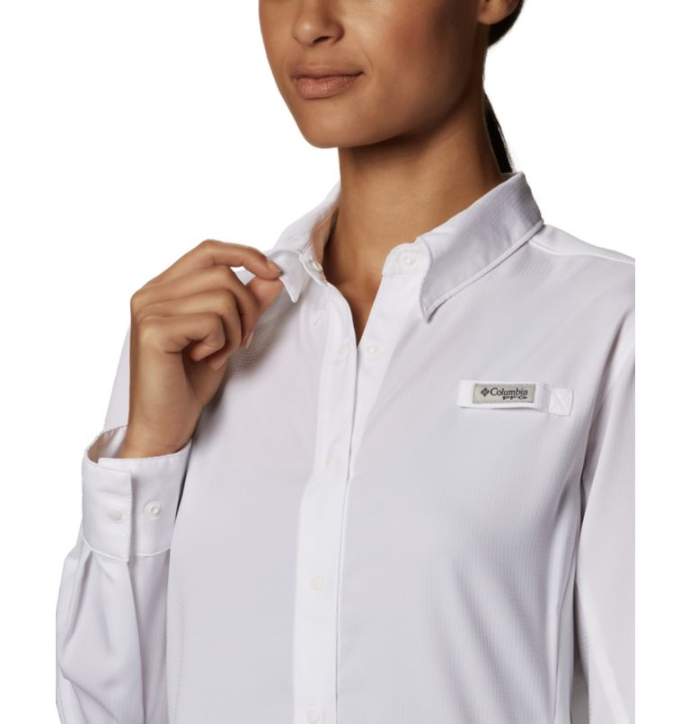 Womens Tamiami™ II LS Shirt | 100 | M Women's PFG Tamiami™ II Long Sleeve Shirt, White, a6