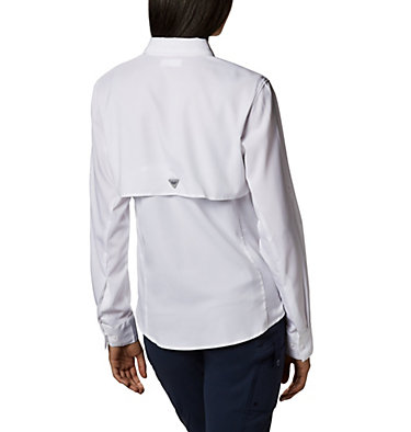 Women's PFG Tamiami™ II Long Sleeve Shirt Womens Tamiami™ II LS Shirt | 658 | L, White, back