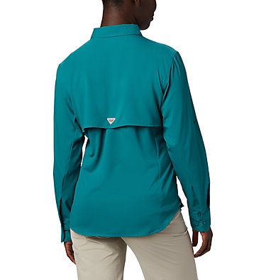 Women's PFG Tamiami™ II Long Sleeve Shirt Womens Tamiami™ II LS Shirt | 658 | L, Waterfall, back