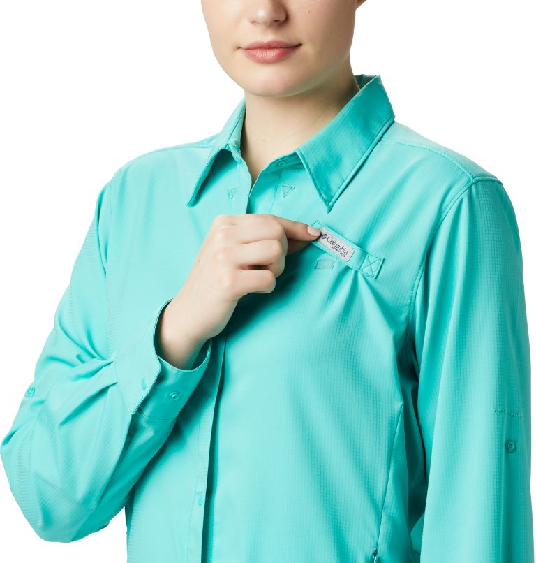 Womens Tamiami™ II LS Shirt | 356 | XXL Women's PFG Tamiami™ II Long Sleeve Shirt, Dolphin, a1