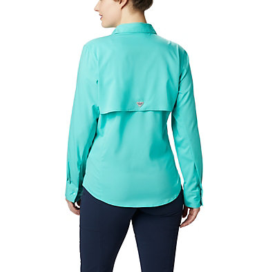 Women's PFG Tamiami™ II Long Sleeve Shirt Womens Tamiami™ II LS Shirt | 658 | L, Dolphin, back