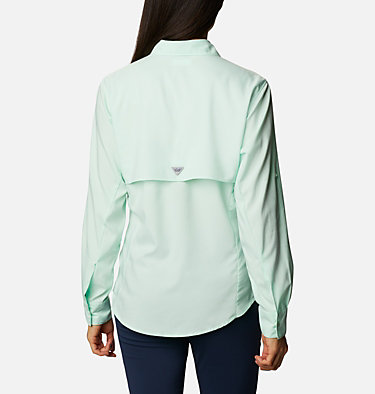 Women's PFG Tamiami™ II Long Sleeve Shirt Womens Tamiami™ II LS Shirt | 010 | XXL, Light Mint, back