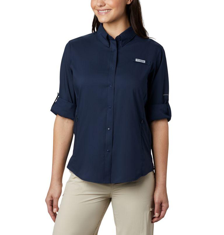 Womens Tamiami™ II LS Shirt   464   XXL Women's PFG Tamiami™ II Long Sleeve Shirt, Collegiate Navy, a4