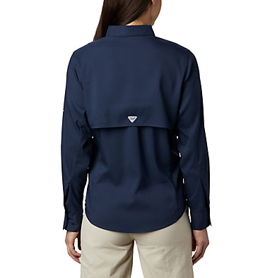 Women's PFG Tamiami™ II Long Sleeve Shirt Womens Tamiami™ II LS Shirt | 658 | L, Collegiate Navy, back