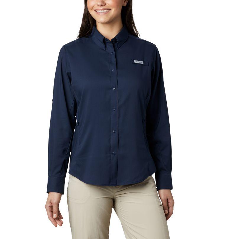 Womens Tamiami™ II LS Shirt   464   XXL Women's PFG Tamiami™ II Long Sleeve Shirt, Collegiate Navy, front