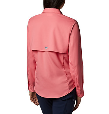 Women's PFG Tamiami™ II Long Sleeve Shirt Womens Tamiami™ II LS Shirt | 658 | L, Lollipop, back