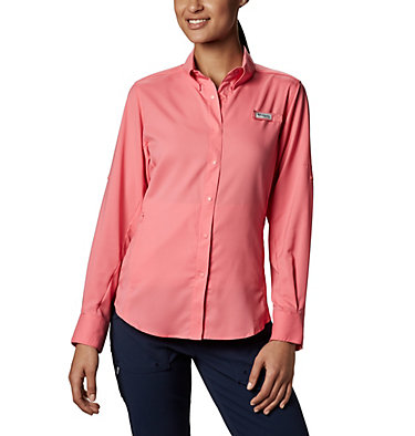 Women's PFG Tamiami™ II Long Sleeve Shirt Womens Tamiami™ II LS Shirt | 658 | L, Lollipop, front