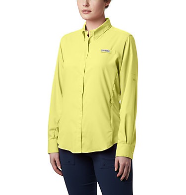 Women's PFG Tamiami™ II Long Sleeve Shirt Womens Tamiami™ II LS Shirt | 658 | L, Sunnyside, front