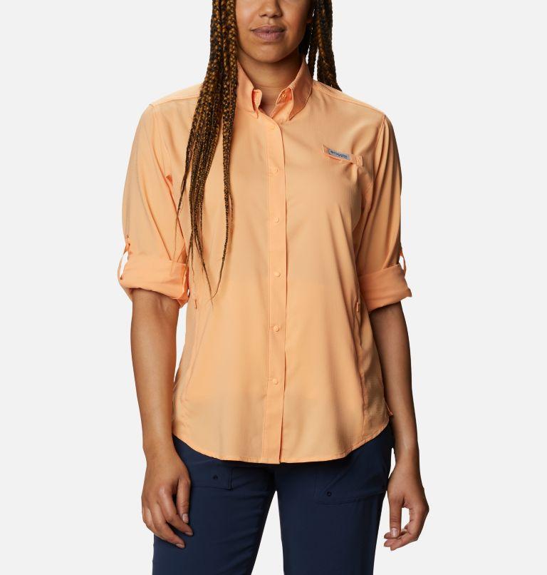 Womens Tamiami™ II LS Shirt | 856 | M Women's PFG Tamiami™ II Long Sleeve Shirt, Light Juice, a4