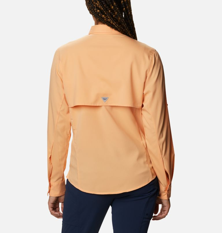 Womens Tamiami™ II LS Shirt | 856 | M Women's PFG Tamiami™ II Long Sleeve Shirt, Light Juice, back