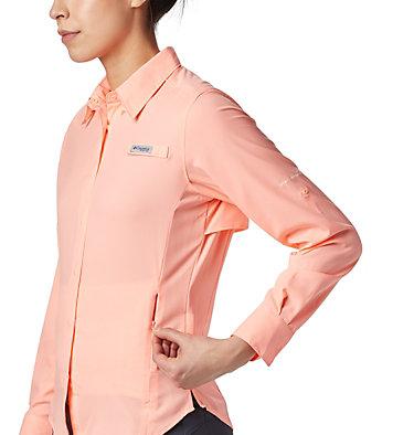 Women's PFG Tamiami™ II Long Sleeve Shirt Womens Tamiami™ II LS Shirt | 658 | L, Tiki Pink, a6