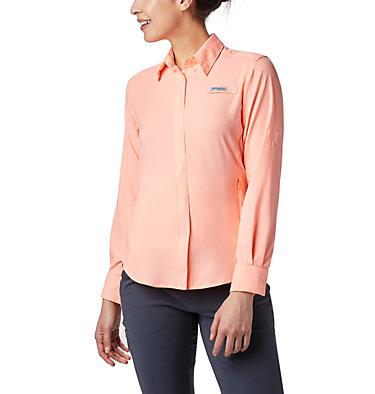 Women's PFG Tamiami™ II Long Sleeve Shirt Womens Tamiami™ II LS Shirt | 658 | L, Tiki Pink, front