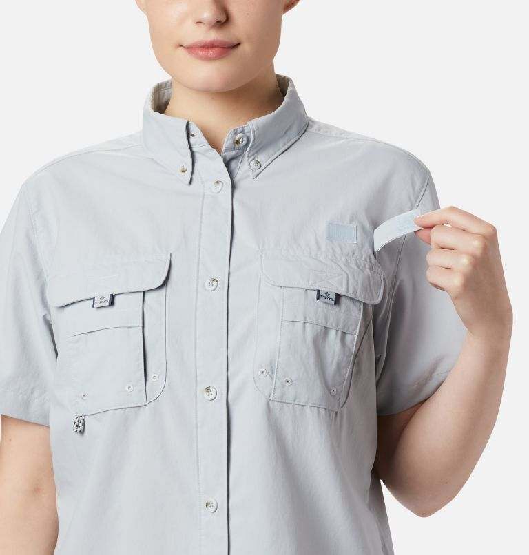 Womens Bahama™ SS   031   XL Women's PFG Bahama™ Short Sleeve Shirt, Cirrus Grey, a2