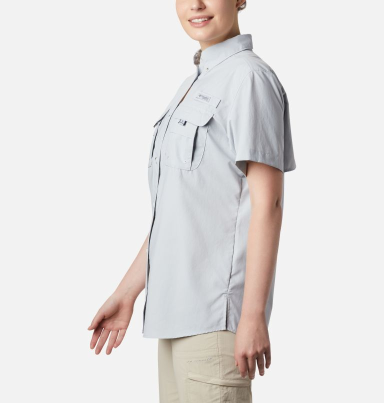 Womens Bahama™ SS | 031 | S Women's PFG Bahama™ Short Sleeve Shirt, Cirrus Grey, a3
