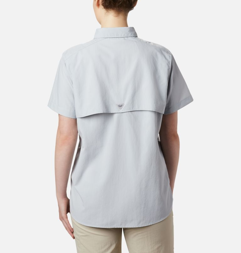 Womens Bahama™ SS | 031 | XXL Women's PFG Bahama™ Short Sleeve Shirt, Cirrus Grey, back