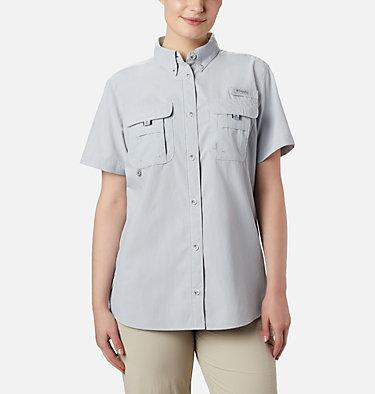 Women's PFG Bahama™ Short Sleeve Shirt Womens Bahama™ SS | 475 | XS, Cirrus Grey, front
