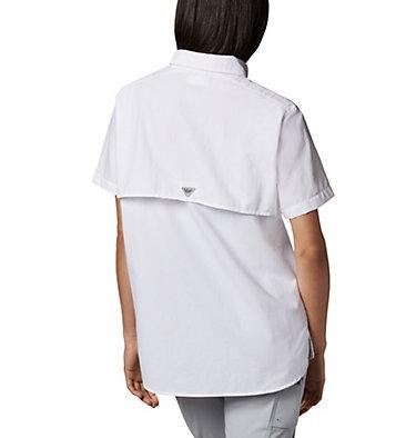 Women's PFG Bahama™ Short Sleeve Shirt Womens Bahama™ SS | 475 | XS, White, back