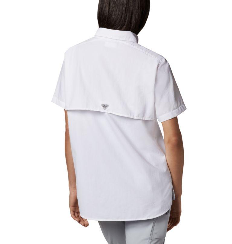 Womens Bahama™ SS | 100 | XL Women's PFG Bahama™ Short Sleeve Shirt, White, back