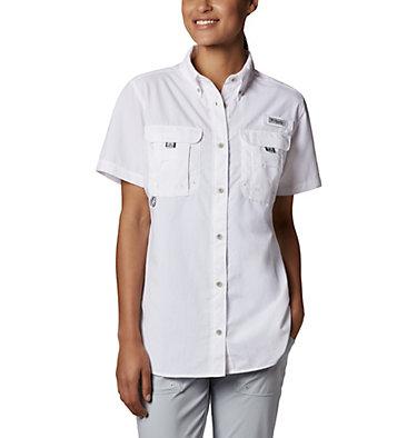 Women's PFG Bahama™ Short Sleeve Shirt Womens Bahama™ SS | 475 | XS, White, front
