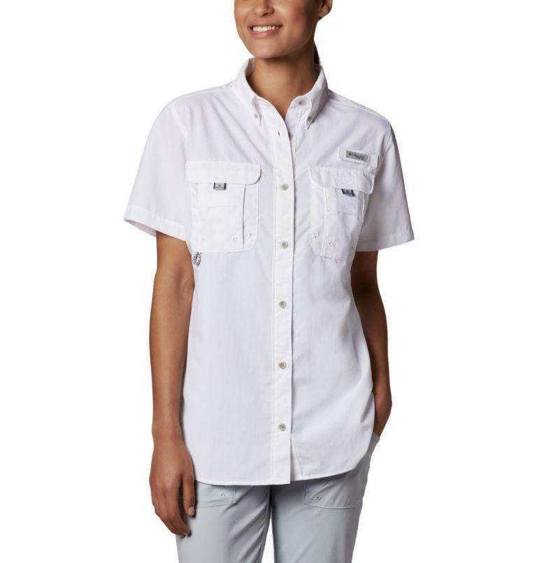 Womens Bahama™ SS | 100 | XL Women's PFG Bahama™ Short Sleeve Shirt, White, front