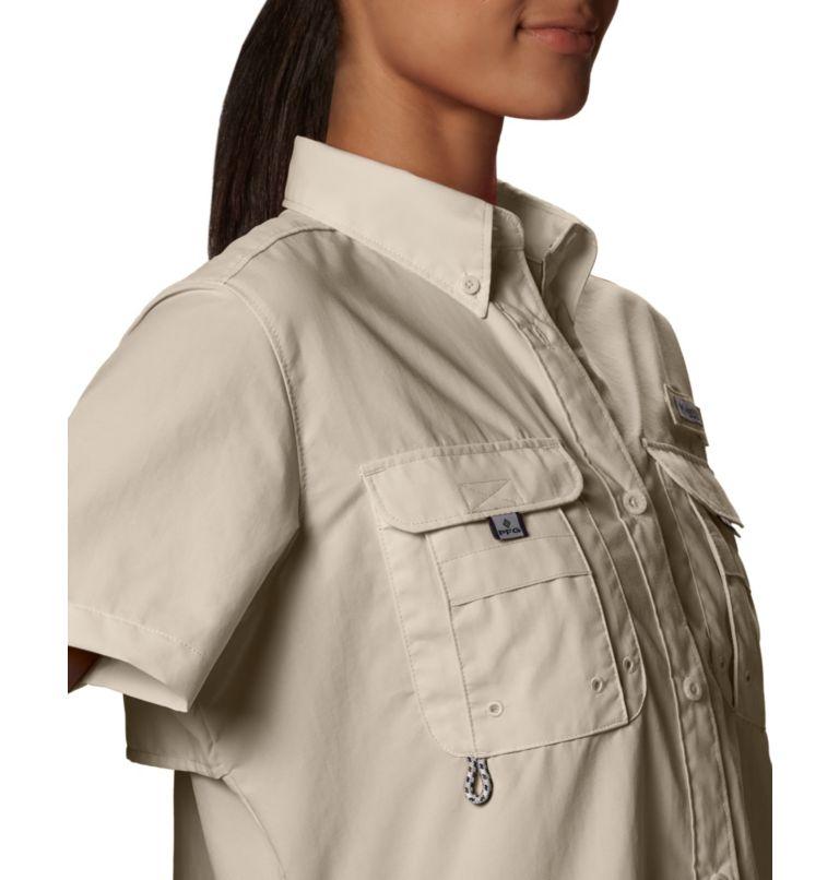 Womens Bahama™ SS | 160 | M Women's PFG Bahama™ Short Sleeve Shirt, Fossil, a3
