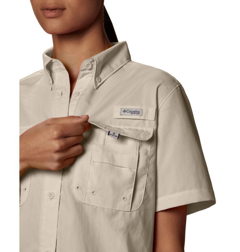Womens Bahama™ SS | 160 | S Women's PFG Bahama™ Short Sleeve Shirt, Fossil, a4