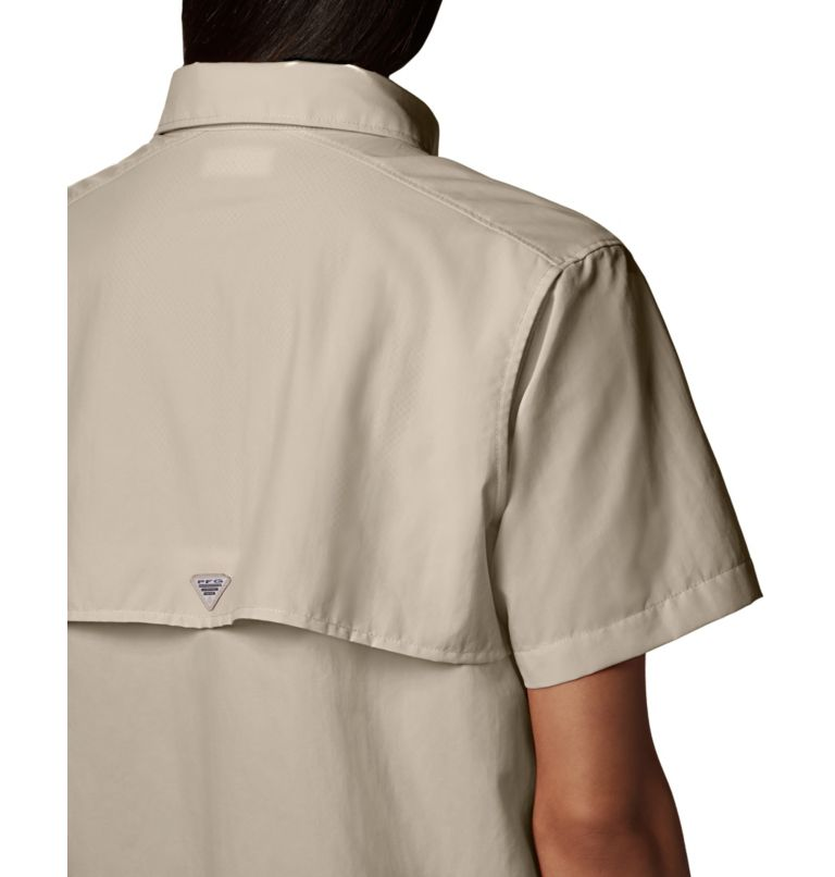 Womens Bahama™ SS | 160 | S Women's PFG Bahama™ Short Sleeve Shirt, Fossil, a5