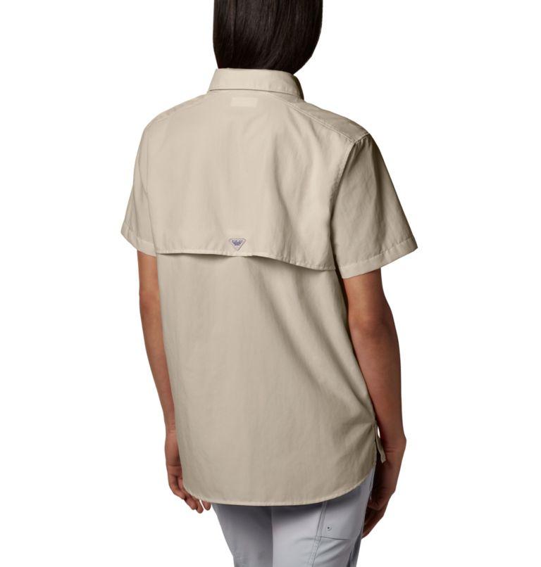 Womens Bahama™ SS | 160 | M Women's PFG Bahama™ Short Sleeve Shirt, Fossil, back