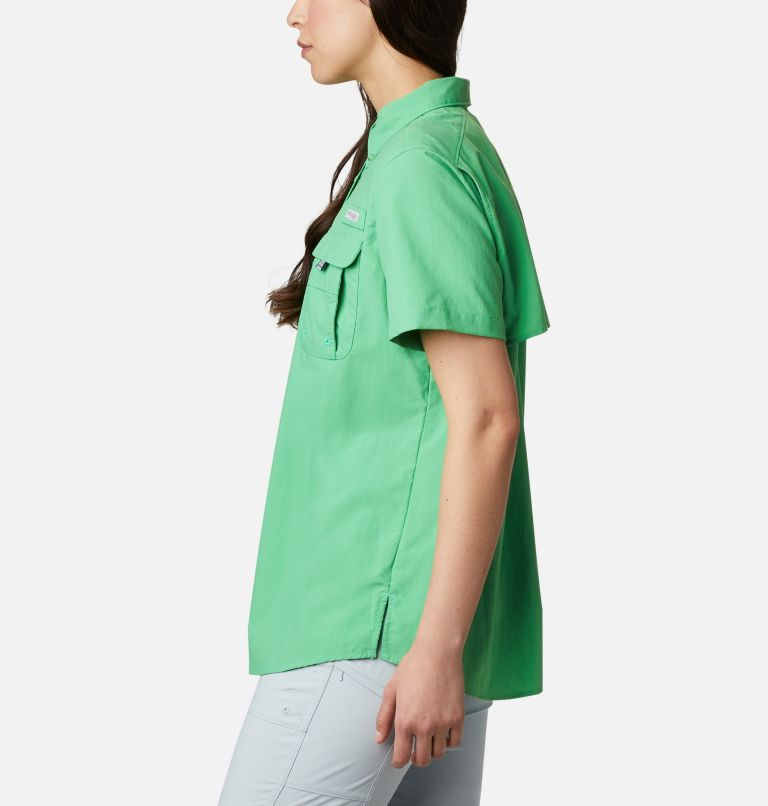 Womens Bahama™ SS | 322 | M Women's PFG Bahama™ Short Sleeve Shirt, Emerald City, a1