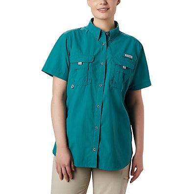 Women's PFG Bahama™ Short Sleeve Shirt Womens Bahama™ SS   475   XS, Waterfall, front