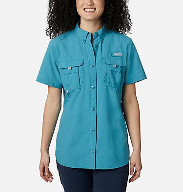 Women's PFG Bahama™ Short Sleeve Shirt Womens Bahama™ SS | 475 | XS, Shasta, front