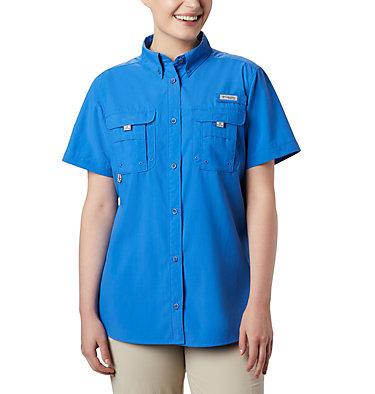 Women's PFG Bahama™ Short Sleeve Shirt Womens Bahama™ SS | 475 | XS, Stormy Blue, front