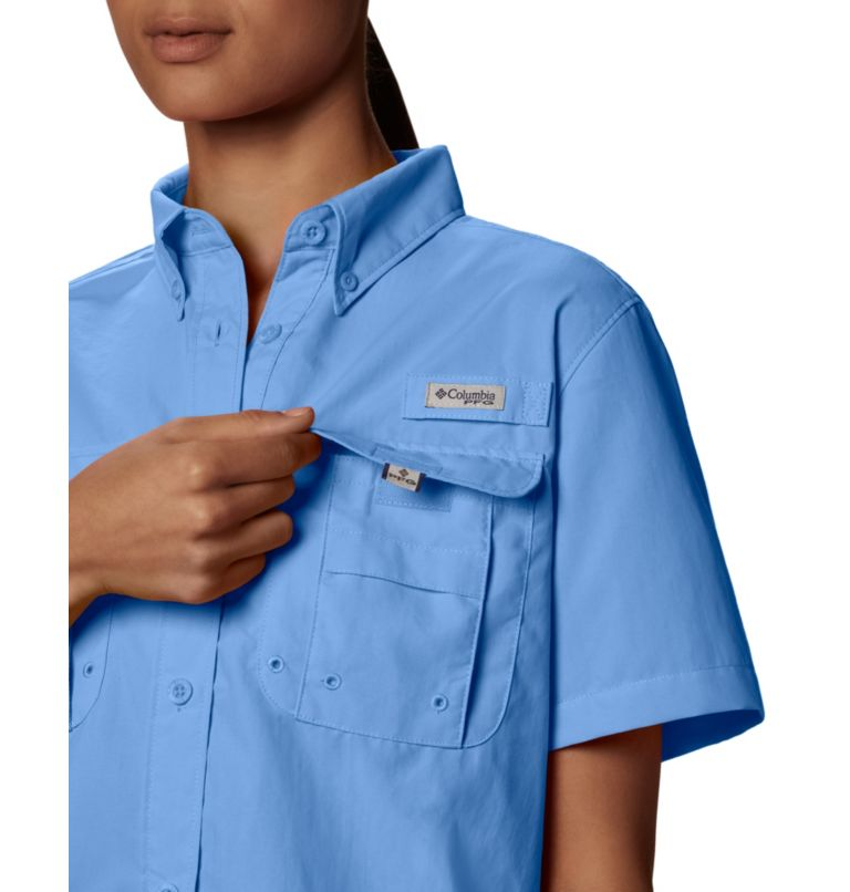 Womens Bahama™ SS | 450 | S Women's PFG Bahama™ Short Sleeve Shirt, White Cap, a2