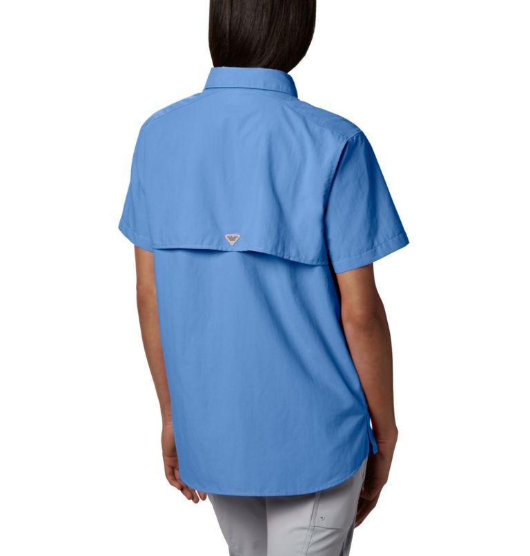 Womens Bahama™ SS | 450 | S Women's PFG Bahama™ Short Sleeve Shirt, White Cap, back