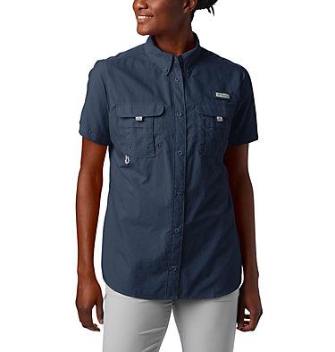 Women's PFG Bahama™ Short Sleeve Shirt Womens Bahama™ SS | 475 | XS, Collegiate Navy, front