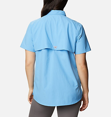 Women's PFG Bahama™ Short Sleeve Shirt Womens Bahama™ SS | 475 | XS, Yacht, back
