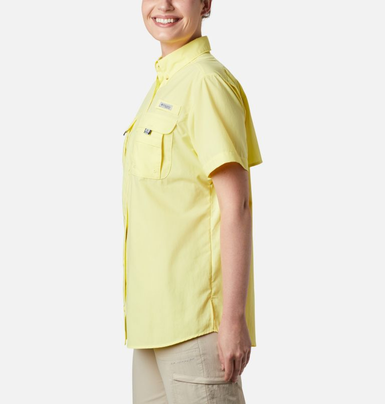 Womens Bahama™ SS | 757 | S Women's PFG Bahama™ Short Sleeve Shirt, Sunnyside, a3