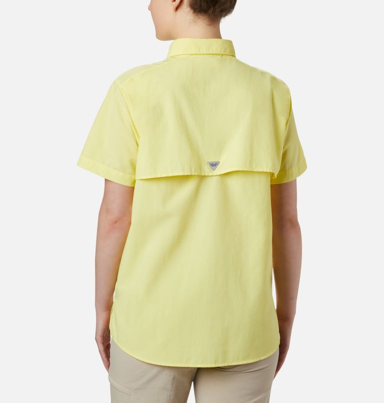Womens Bahama™ SS | 757 | S Women's PFG Bahama™ Short Sleeve Shirt, Sunnyside, back