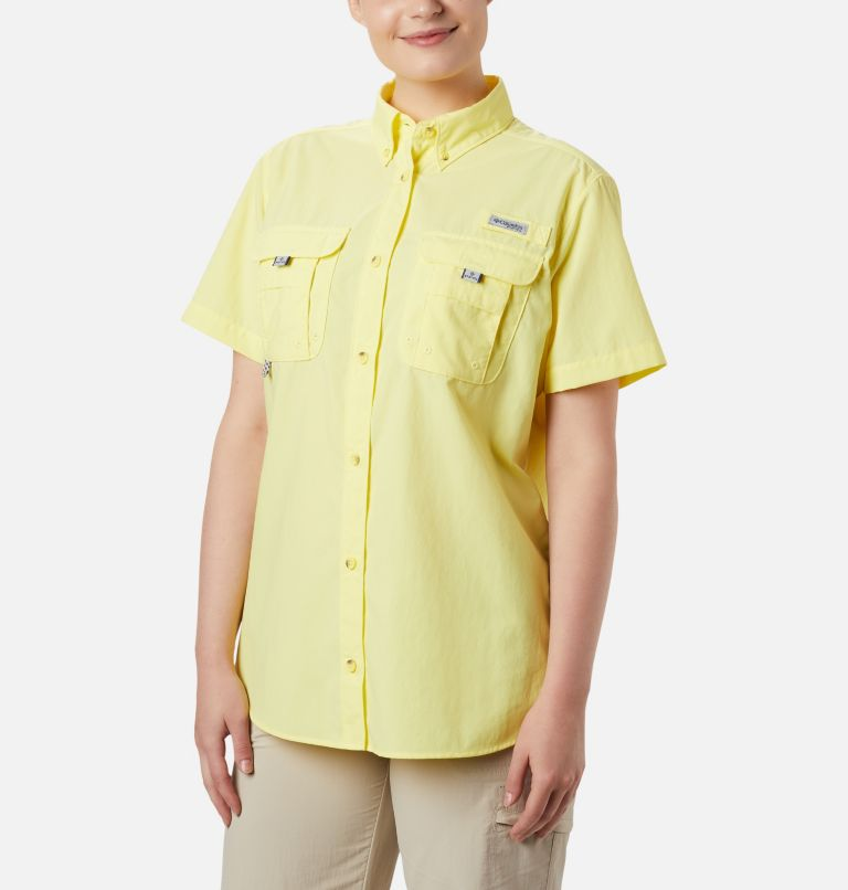 Womens Bahama™ SS | 757 | S Women's PFG Bahama™ Short Sleeve Shirt, Sunnyside, front