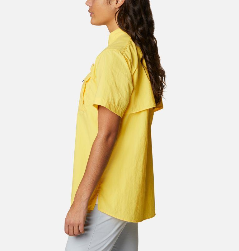 Womens Bahama™ SS   771   M Women's PFG Bahama™ Short Sleeve Shirt, Sun Glow, a1
