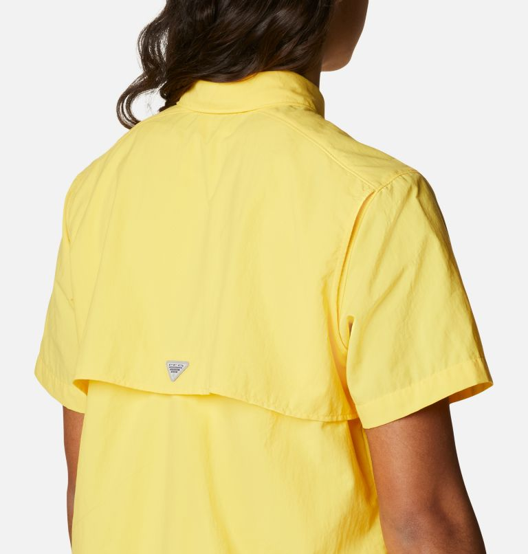Womens Bahama™ SS   771   M Women's PFG Bahama™ Short Sleeve Shirt, Sun Glow, a3