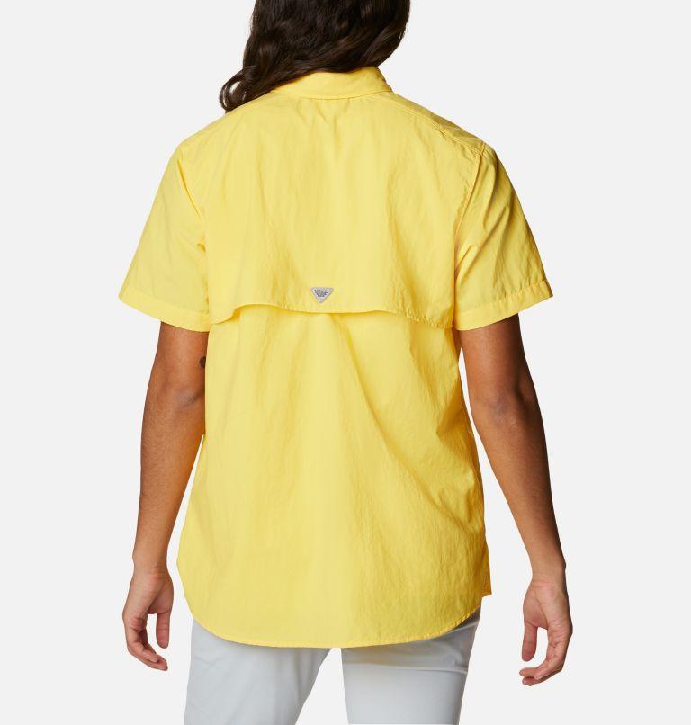 Womens Bahama™ SS   771   S Women's PFG Bahama™ Short Sleeve Shirt, Sun Glow, back