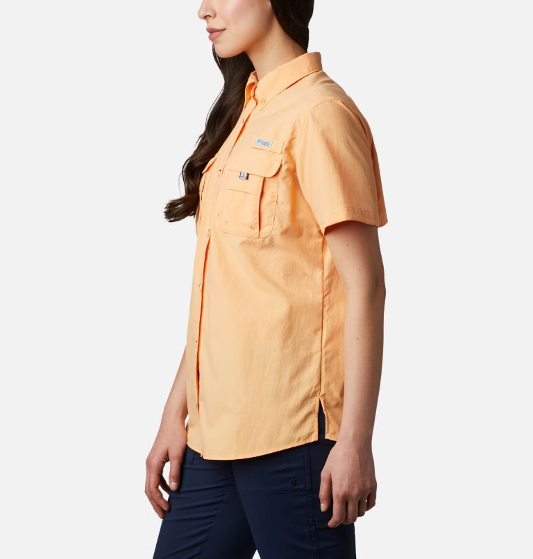 Womens Bahama™ SS | 856 | S Women's PFG Bahama™ Short Sleeve Shirt, Light Juice, a1